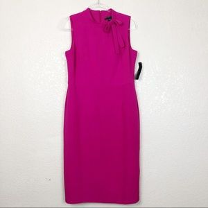 Maggy London Pink Midi Dress